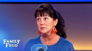 Lois' answer STUNS Steve Harvey!   Family Feud