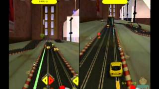 GrooveRider Slot Car Racing PS2 Multiplayer Gameplay ( Play It ) Playstation 2