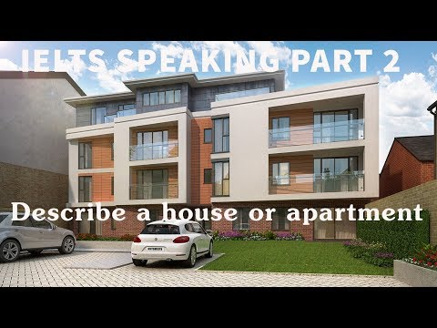 Describe a house or apartment you would like to live in | IELTS Speaking Part 2
