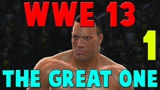 WWE 13 Attitude Era The Great One Gameplay Walkthrough Part 1 - Vince Pissed Himself