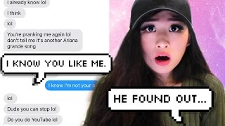 Baixar - Pranking My Crush With Ariana Grande S Just A Little Bit Of Your Heart Lyrics Grátis
