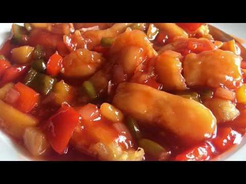 Ikan saos asam manis (Sweet & sour fish)