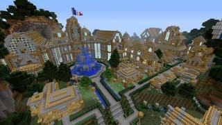 Minecraft Xbox - Hot Air Balloon Ride - Arcancia City - Part 3