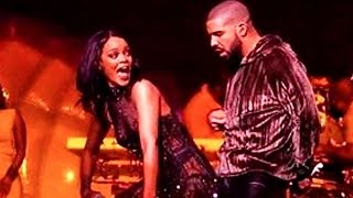 Rihanna Twerks & Grinds HARD on Drake on Stage at Anti World T…
