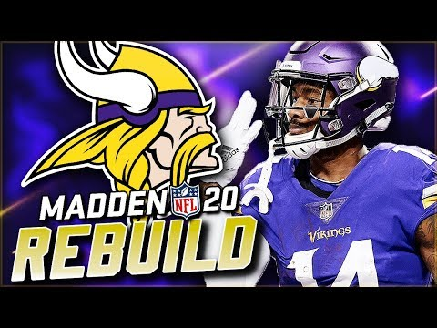 Rebuilding the Minnesota Vikings | THE CPU SIGNED WHO!!?? Madden 20 Franchise