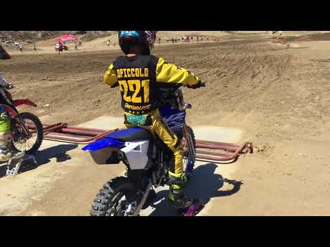 What Yamaha do you think I qualified for Loretta Lynn's yz 65 or yz 85