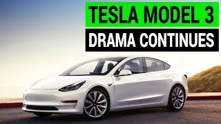 Tesla Model 3 Drama Continues as Q4 Report Revealed