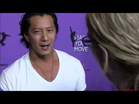 YAH  with Will Yun Lee Plays Kaz at LA Premiere of  Make Your Move