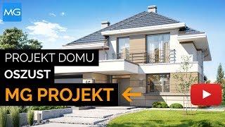 Projekt domu Oszust - MGProjekt Projekty Domów