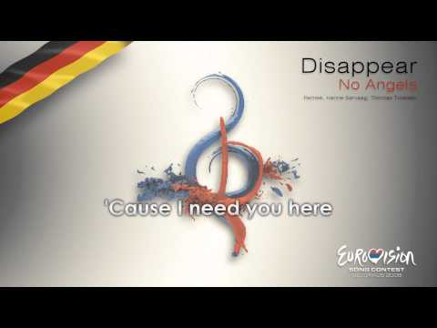 """No Angels - """"Disappear"""" (Germany)"""