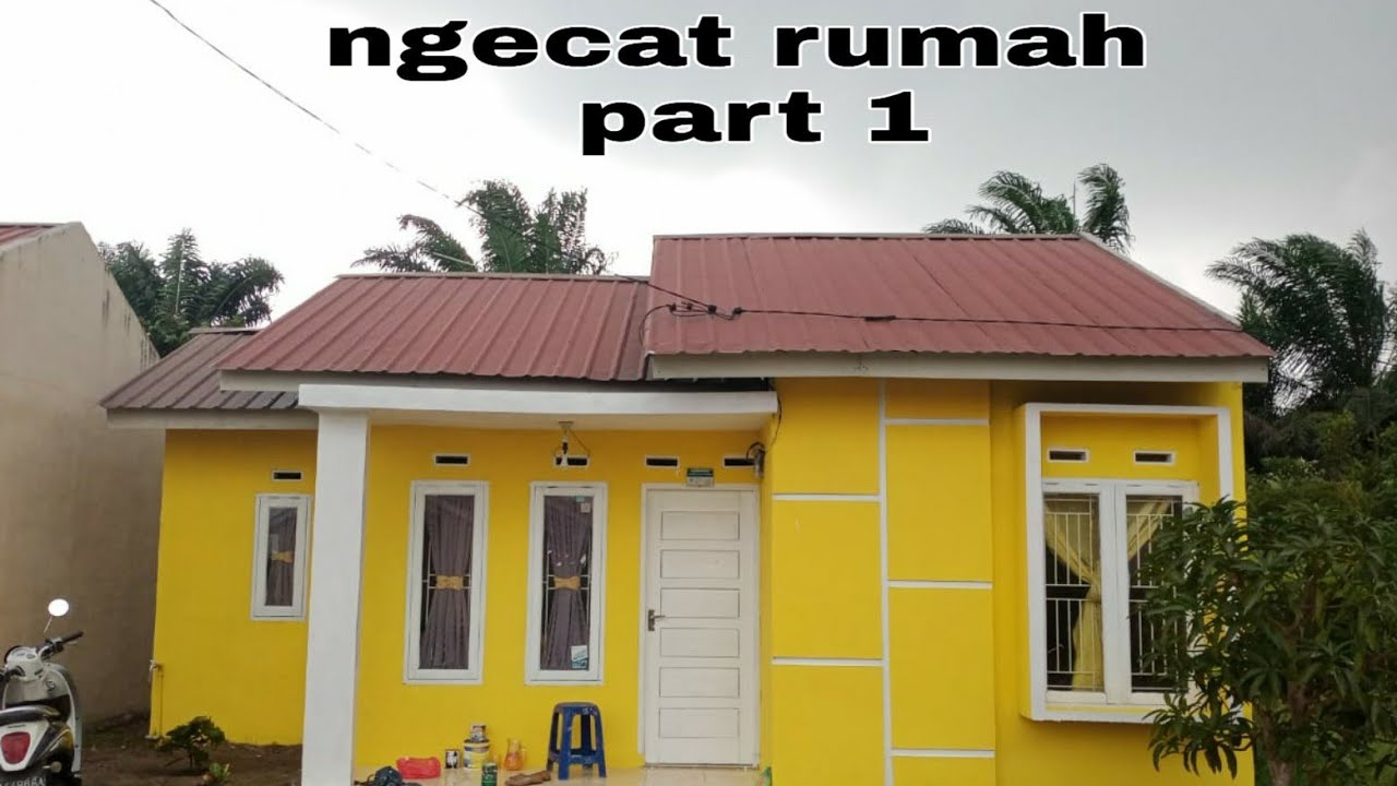 Ngecat rumah part 1 || home decor || rumah type 36 - YouTube