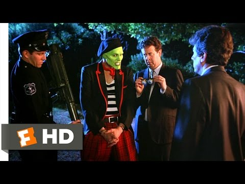 The Mask (4/5) Movie CLIP - Frisking The Mask (1994) HD