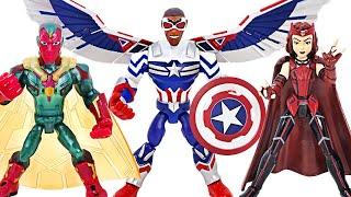 마블 어벤져스 팔콘 캡틴아메리카, 비전, 스칼렛 위치 …
