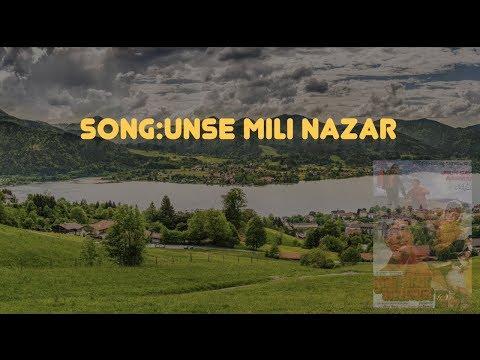 Unse Mili Nazar Instrumental With Lyrics