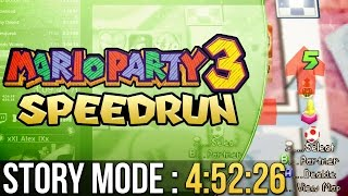 Mario Party 3 Story Mode Normal Speedrun in 4:52:26