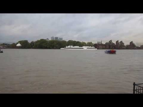 Thames Water Overflow at Greenwich, London