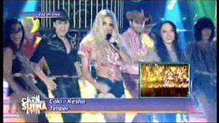 Coki Ramirez es Kesha en Tu Cara me Suena