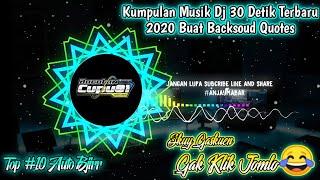 Download Lagu Kumpulan Dj 30 Detik Terbaru 2020 || Cocok Buat Backsoud Quotes Part #7😍 mp3