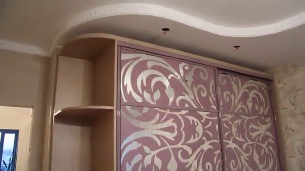 фото спальня шкаф купе