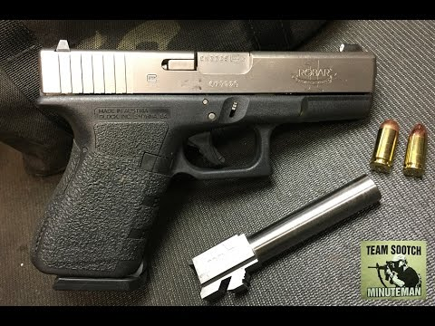 Why Buy A 9mm Conversion Barrel For The Glock 40 Caliber Youtube