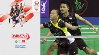 Live Streaming Indonesia Masters 2019 Akbar Bintang/Winny Oktavina Vs Chan Peng Soon/Goh Liu Ying