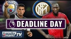 Deadline Day-England: ManCity holt Cancelo - Lukaku schon in Mailand | TRANSFERMARKT