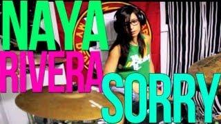 Naya Rivera Ft. Big Sean // Sorry ☠DRUM COVER BY SINCERELYILANA☠