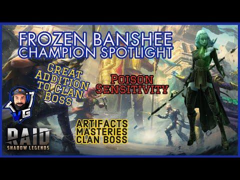 Raid Shadow Legends Frozen Banshee Build & Guide