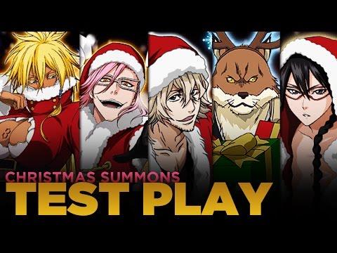Bleach Brave Souls! Christmas Harribel, Lisa, Kisuke, Sajin and Szayelaporro Gameplay!