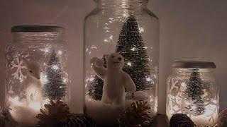 Décoration De Noël Diy : Bocaux De Noël