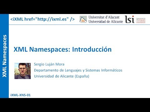 XML Namespaces: Introducción