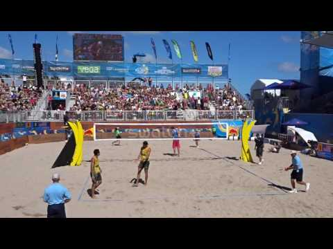 Beach Volleyball Men's Semifinal 2: USA Vs Brazil