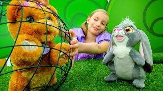 София Прекрасная нашла медвежонка - Мультики для девочек с куклами