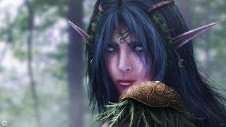 WarCraft 3 Frozen Throne  Прохождение Ночных Эльфов Начало