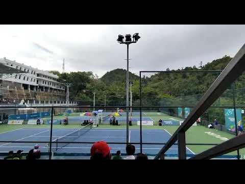 Rifqi Fitriadi Sabet Emas Tenis Tunggal Putra PON XX Papua