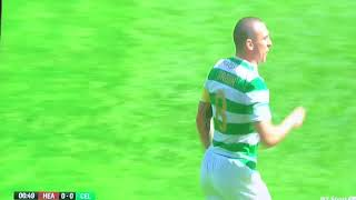 Hearts v Celtic 6 th May 2018 Naismith tackle on Brown Should have been Red Card tackle 1
