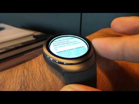 Gear S2 Rotating Bezel is Awesome