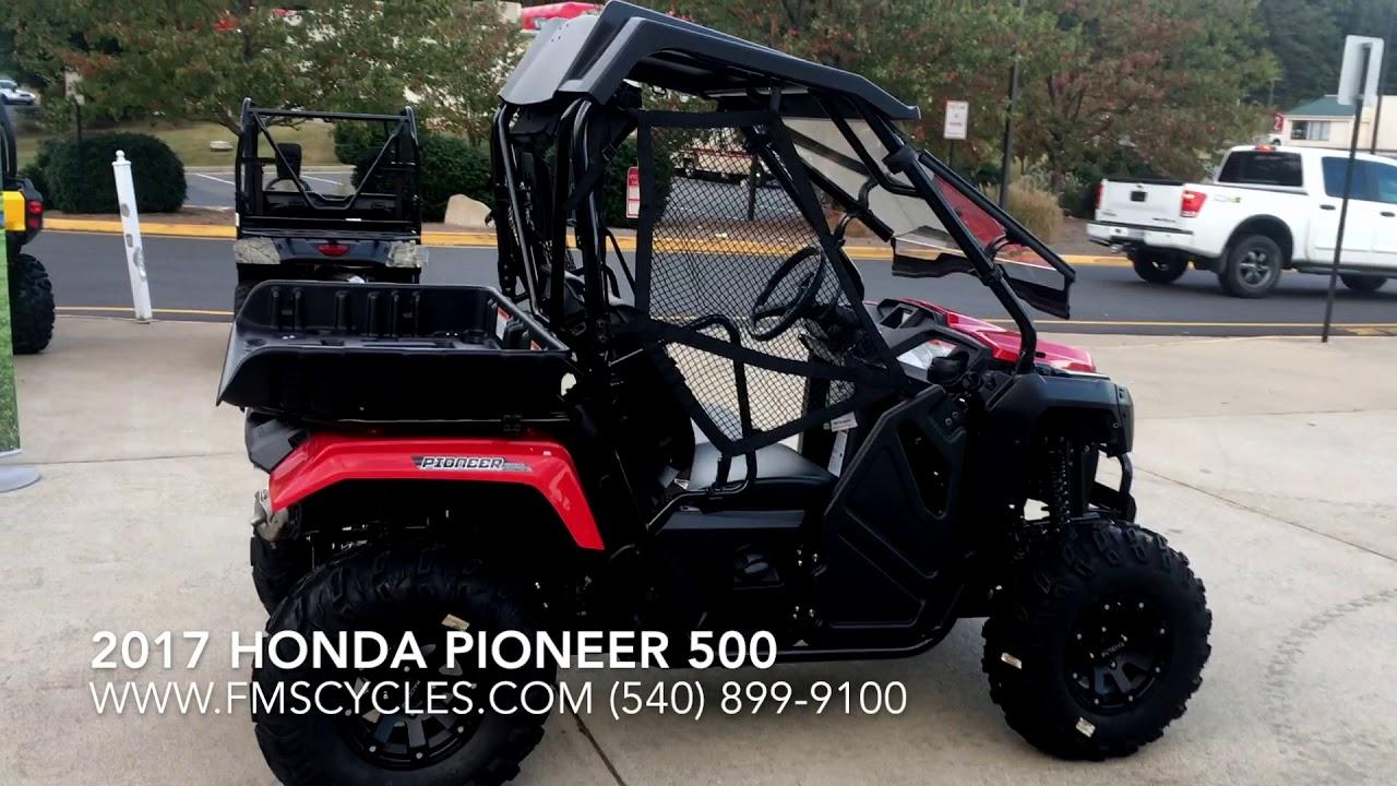 2017 honda pioneer 500 - walk around - in stock at fms