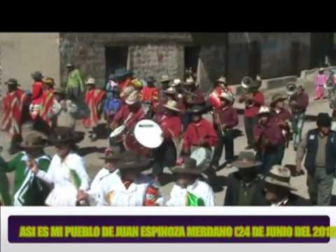 MOLLEBAMBA 2012  HUAYÑUS Y CORRIDA EN EL DISTRITO  JEM