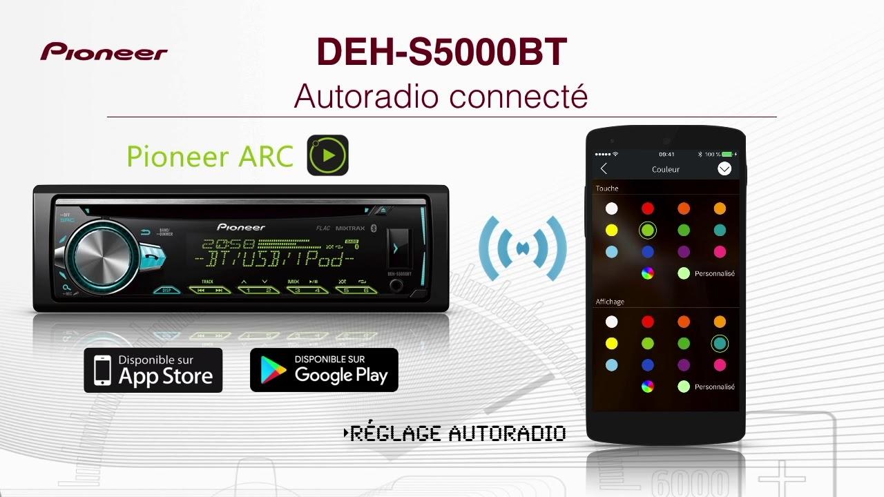 DEH-S5000BT autoradio Pioneer - YouTube