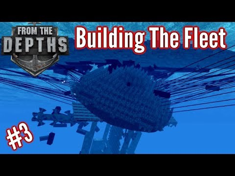 Building The Fleet | #3 | Devour Everything!! (Harpoon Melee Submarine!!)  | From The Depths