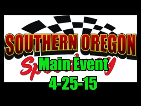 Southern Oregon Speedway A-Main (50 laps) 4-25-15