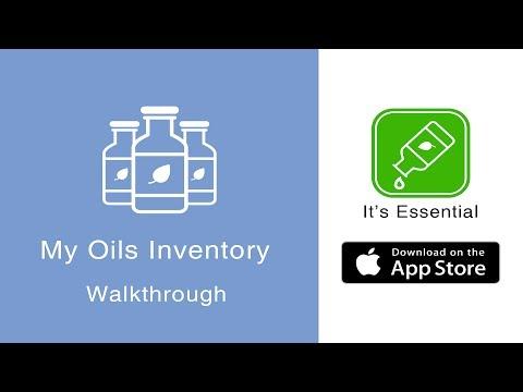 Essential Oils Guide | It's Essential iPhone App | My Oils Inventory Walkthrough