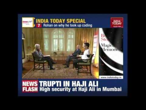 N R Narayana Murthy & Son Rohan Murty In Conversation With Karan Thapar