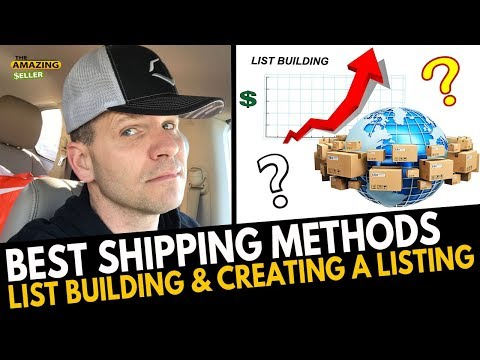 Best Shipping Methods for Selling on Amazon + More Ways to Sell My Products