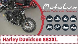 Мотоцикл Harley Davidson 883XL Sportster відео огляд Мотоцикл Хардей Дэвидсон 883 ХЛ Спортстер