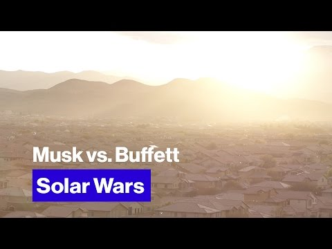 Thumbnail: It's Elon Musk vs. Warren Buffett in the Fight for the Future of Solar