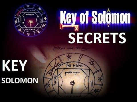 SECRET KEY OF SOLOMON BOOK OF MYSTERIES & MAGIC RITES
