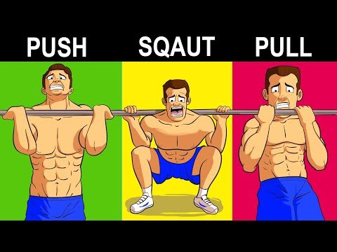 The ONLY 7 Exercises Men Need To Build Muscle