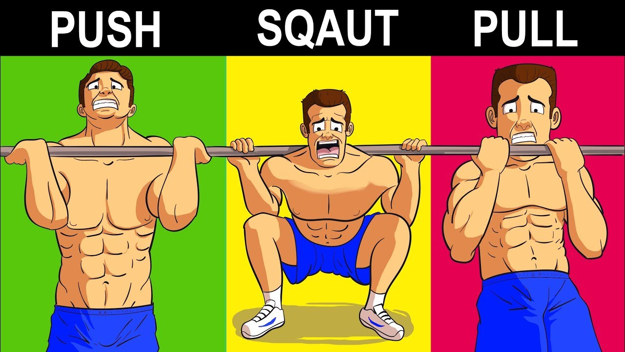 The ONLY 7 Exercises Men Need To Build Muscle by Gravity Transformation - Fat Loss Experts